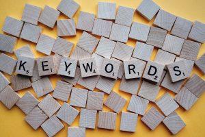 בחירת מילות מפתח